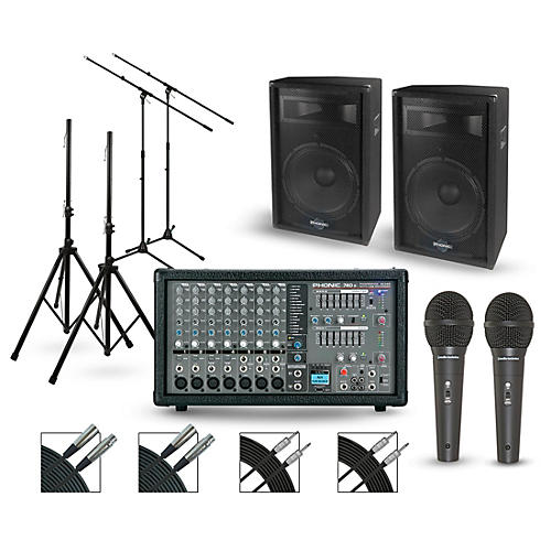Phonic Powerpod 740R with S7 PA Package-thumbnail
