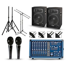 Phonic Powerpod 750R Mixer with S7 Speakers PA Package
