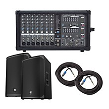 Phonic Powerpod 780 Plus Mixer with EKX Speakers PA Package