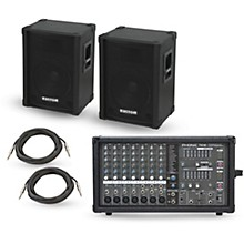 Phonic Powerpod 780 Plus Mixer with KPC Speakers PA Package