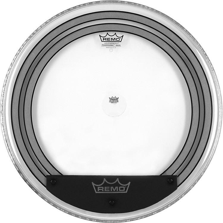 RemoPowersonic Clear Bass Drumhead24
