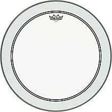 Remo Powerstroke 3 Clear Bass Drum Head with Impact Patch 20 in.
