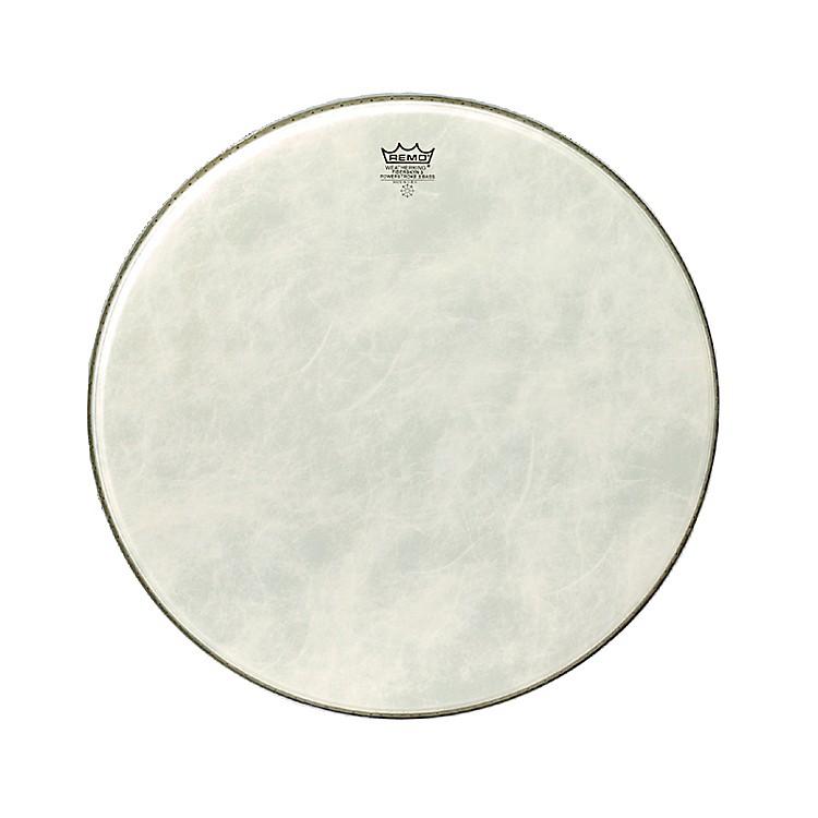 RemoPowerstroke 3 Simulated Calfskin Fiberskyn FA Bass Drumhead18 Inches