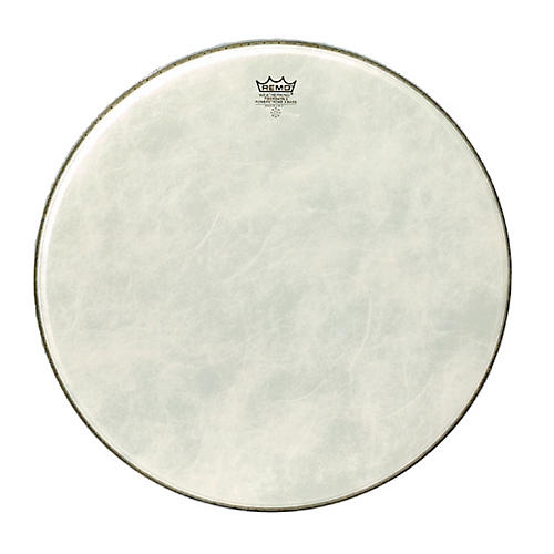 Remo Powerstroke 3 Simulated Calfskin Fiberskyn FA Bass Drumhead  24 in.