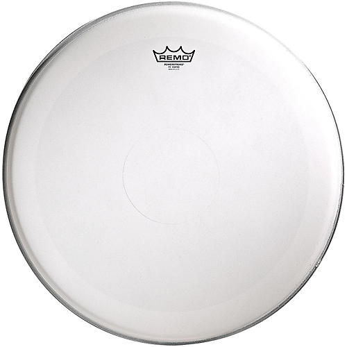Remo Powerstroke 4 Coated Batter Drum Head with Clear Dot 18 in.