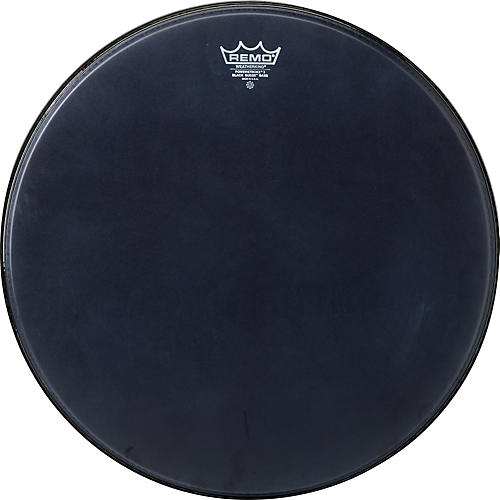 Remo Powerstroke Black Suede Bass Drum Batter Drumhead 18 in.