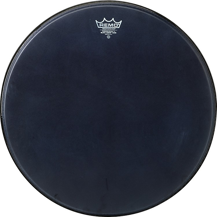 Remo Powerstroke Black Suede Bass Drum Batter Drumhead 22