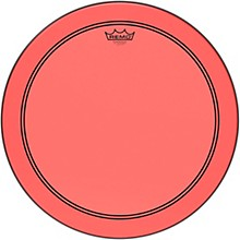 Remo Powerstroke P3 Colortone Red Bass Drum Head
