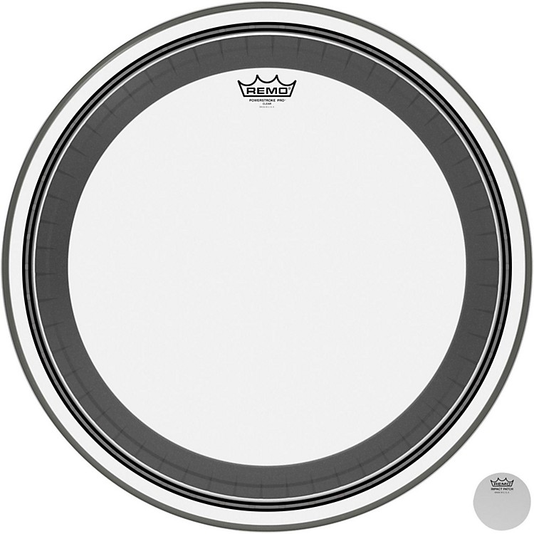 RemoPowerstroke Pro Bass Clear Drumhead22 inch