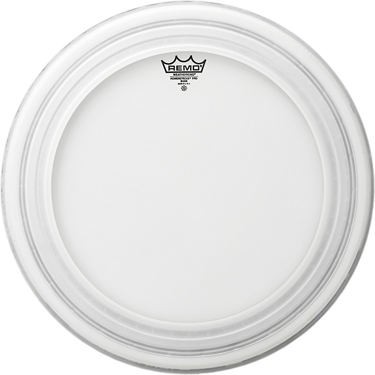 RemoPowerstroke Pro Bass Drumhead Coated