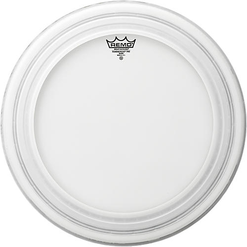 Remo Powerstroke Pro Bass Drumhead Coated 24 in.