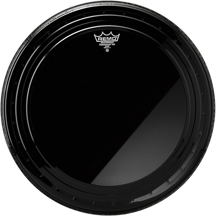 RemoPowerstroke Pro Bass Drumhead Ebony20 inch