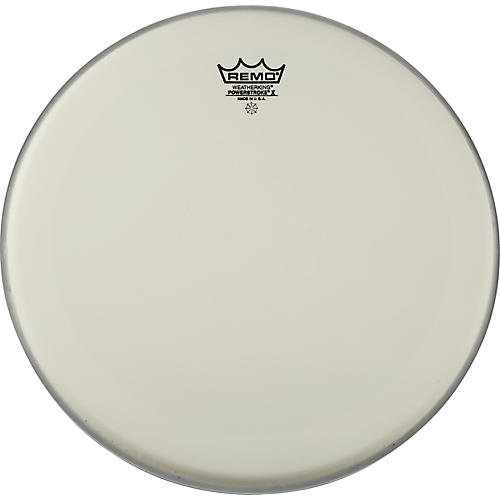 Remo Powerstroke X Coated Drumhead with Clear Dot 13 in.