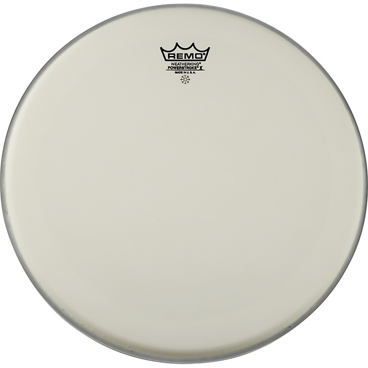 Remo Powerstroke X Coated Drumhead with Clear Dot 13