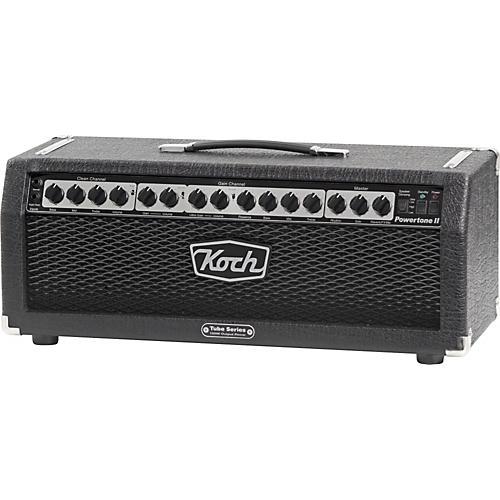 Koch Powertone II 6550 120W Tube Guitar Amp Head Black