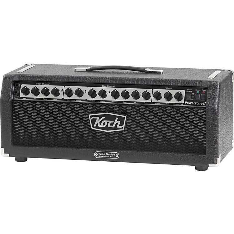 KochPowertone II 6550 120W Tube Guitar Amp HeadBlack