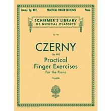 G. Schirmer Practical Finger Exercises Piano Op 802 Complete By Czerny