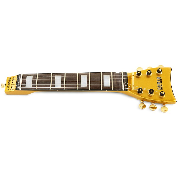 ShredneckPractice Guitar NeckGold Metalflake