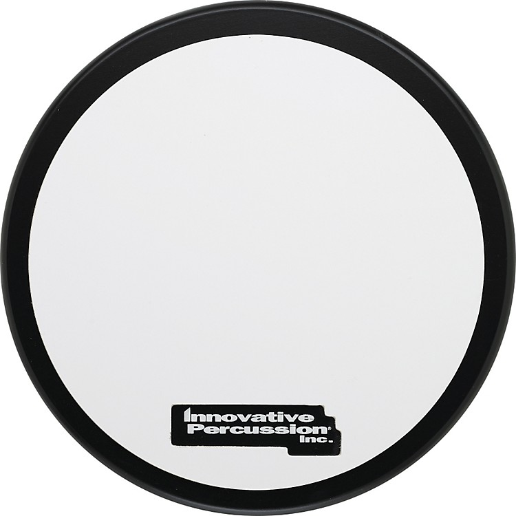 Innovative Percussion Practice Pad SINGLE-SIDED WHITE RUBBER LAMINATED CORPS PAD