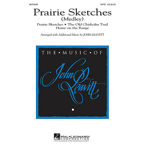 Hal Leonard Prairie Sketches (Medley) SATB arranged by John Leavitt