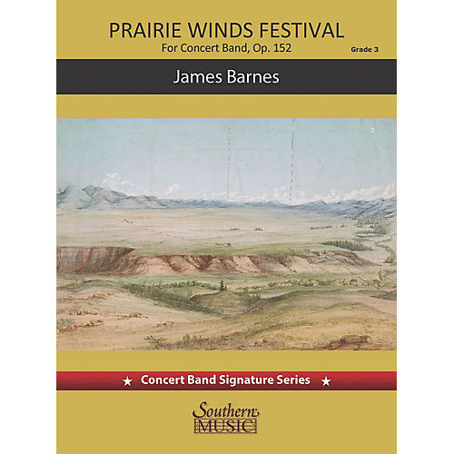 Southern Prairie Winds Festival (for Concert Band) Concert Band Level 3-thumbnail