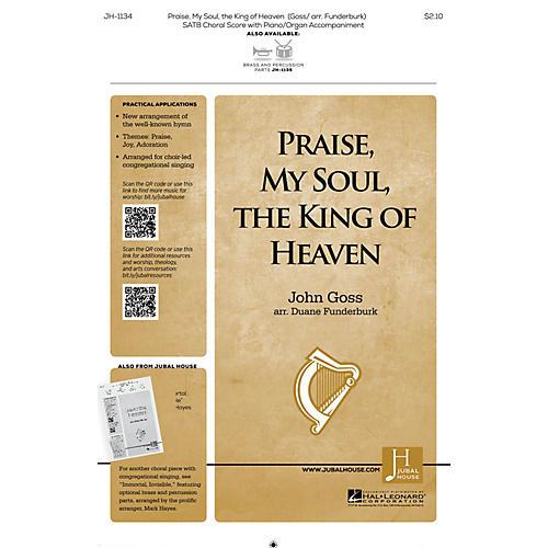 Jubal House Publications Praise, My Soul, the King of Heaven SATB arranged by John Goss-thumbnail