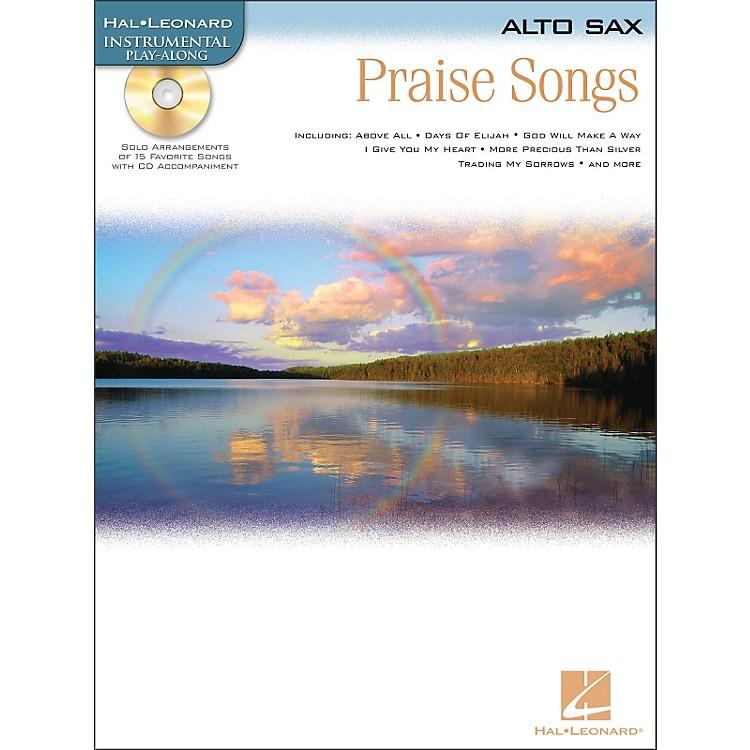 Hal LeonardPraise Songs for Alto Sax Book/CD