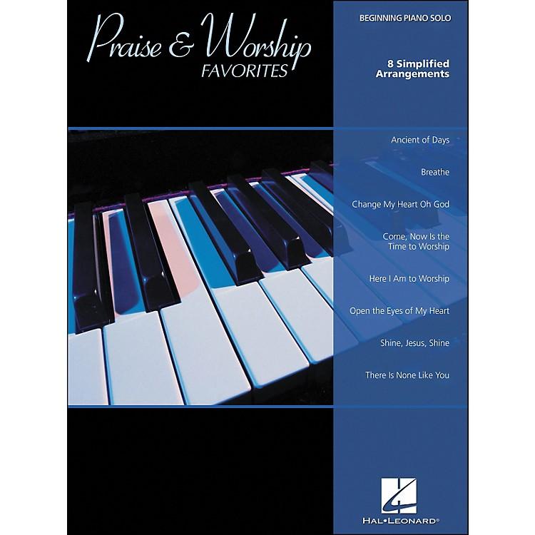 Hal LeonardPraise & Worship Favorites Beginning Piano Solo