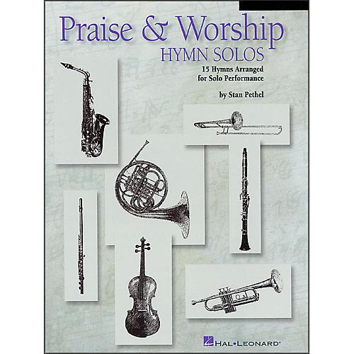 Hal Leonard Praise & Worship Hymn Solos - Trombone/Baritone Book/CD Package