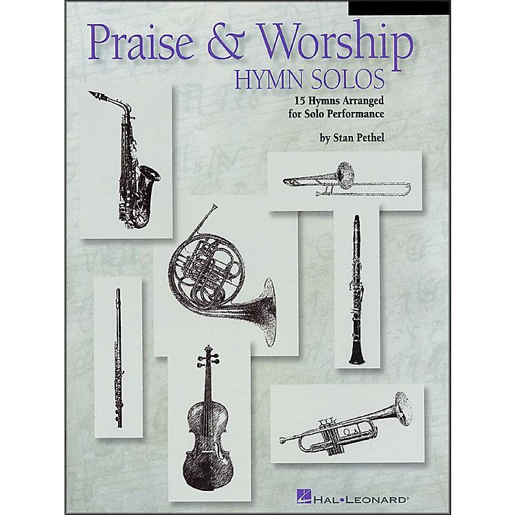 Hal LeonardPraise & Worship Hymn Solos - Trombone/Baritone Book/CD Package