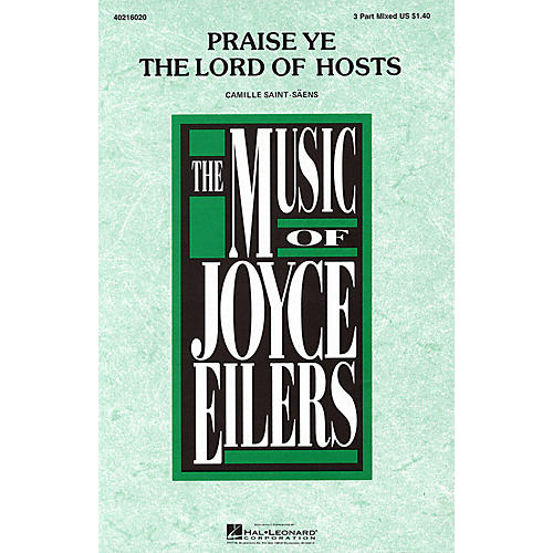 Hal Leonard Praise Ye the Lord of Hosts 3-Part Mixed arranged by Joyce Eilers-thumbnail