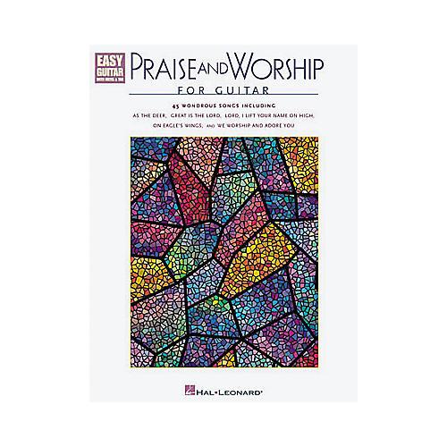 Hal Leonard Praise and Worship Easy Guitar Tab Book