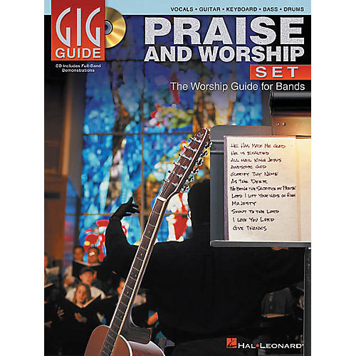 Hal Leonard Praise and Worship Set Gig Guide (Book/CD)-thumbnail