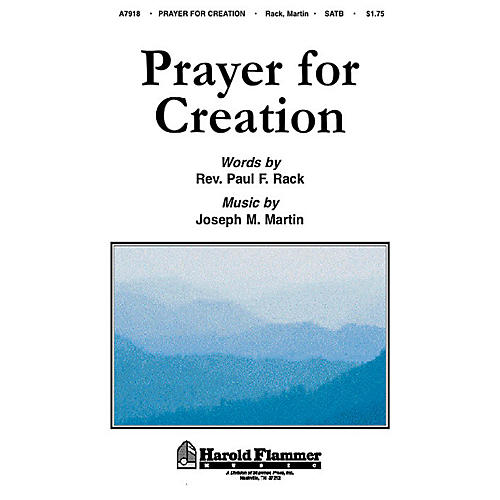 Shawnee Press Prayer for Creation SATB composed by Rev. Paul Rack