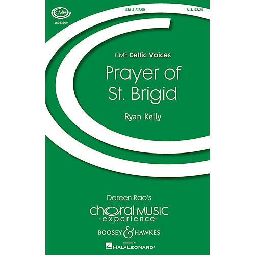 Boosey and Hawkes Prayer of St. Brigid (CME Celtic Voices) SSA composed by Ryan Kelly-thumbnail