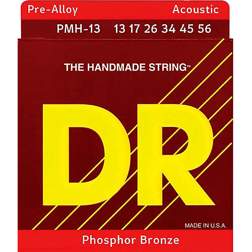 DR Strings Pre-Alloy Phosphor Bronze Medium Heavy Acoustic Guitar Strings