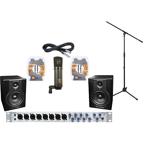 M-Audio PreSonus FP10 and M-Audio BX5a Recording Package-thumbnail