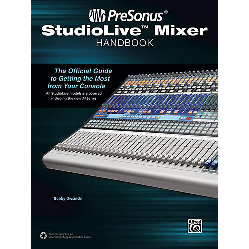 Alfred PreSonus StudioLive Mixer Handbook