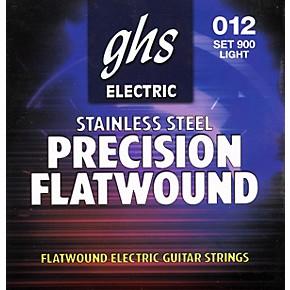 Electric Guitar Strings Light Vs Medium : ghs precision flatwound electric guitar strings light musician 39 s friend ~ Russianpoet.info Haus und Dekorationen