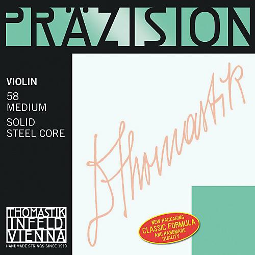 Thomastik Precision Steel 4/4 Size Violin Strings 4/4 Stark D String