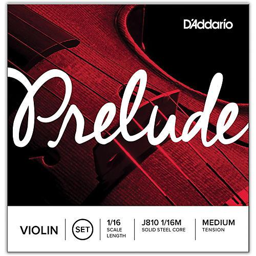 D'Addario Prelude 1/16 Size Violin String Set