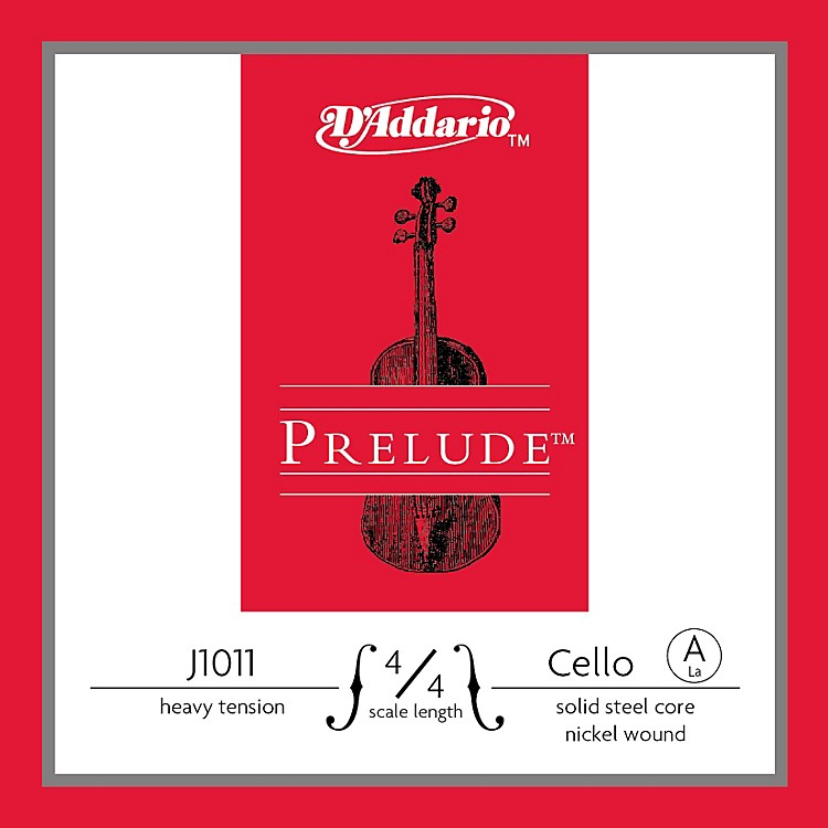 D'Addario Prelude 4/4 Size Heavy Cello A String