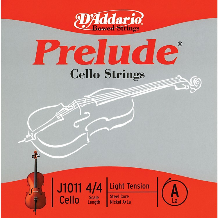 D'Addario Prelude 4/4 Size Light Cello A String
