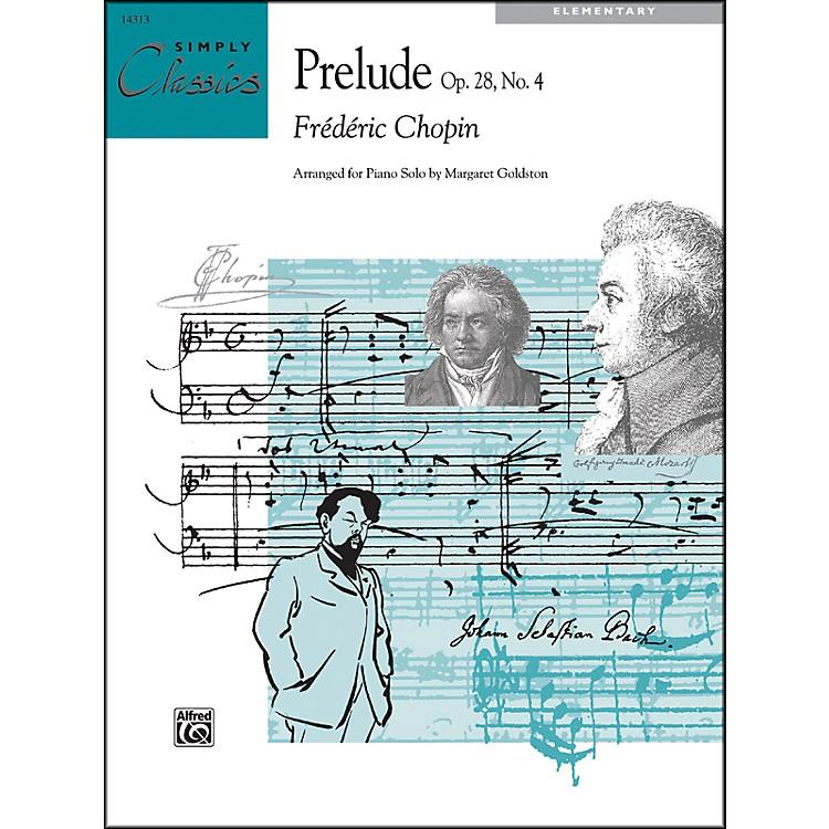AlfredPrelude Op. 28 No. 4
