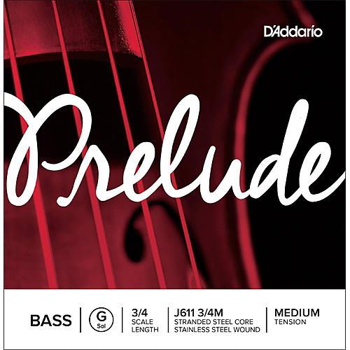 D'Addario Prelude Series Double Bass G String 3/4 Size