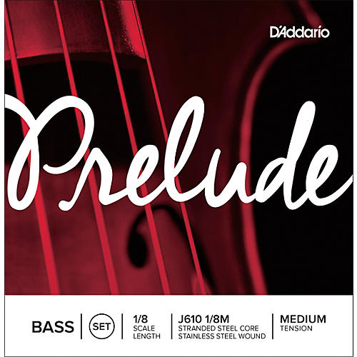 D'Addario Prelude Series Double Bass String Set-thumbnail