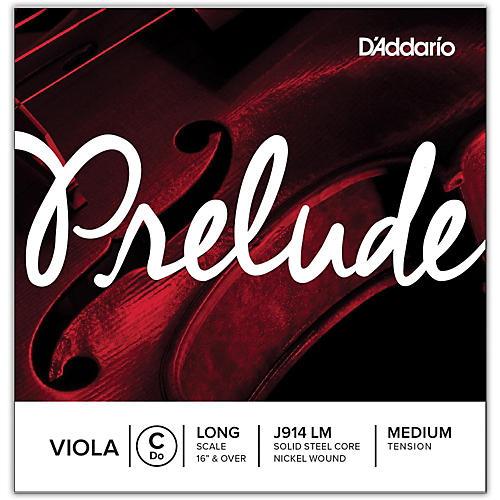 D'Addario Prelude Series Viola C String  16+ Long Scale