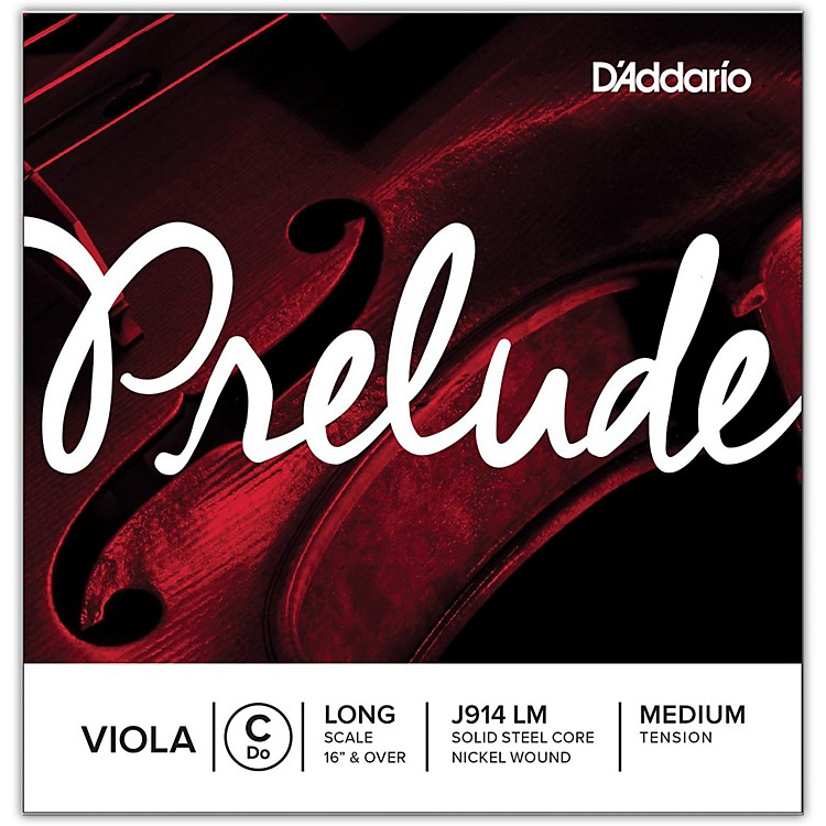 D'AddarioPrelude Series Viola C String16+ Long Scale