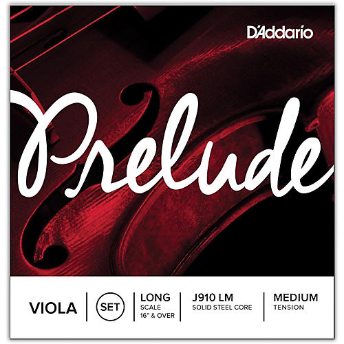 D'Addario Prelude Series Viola String Set  16+ Long Scale