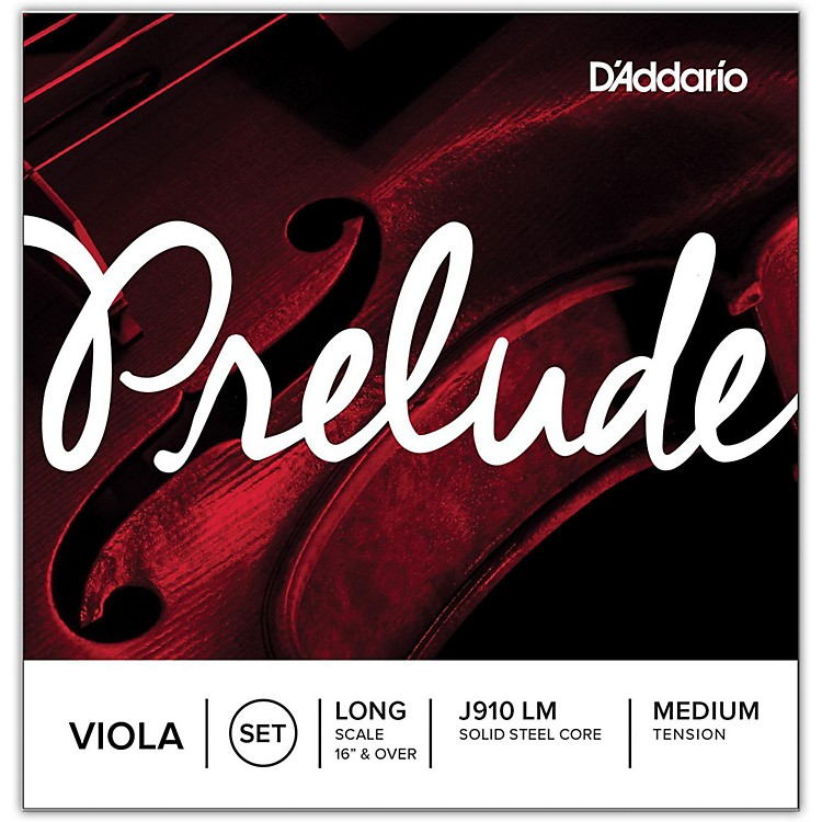 D'Addario Prelude Series Viola String Set  15+ Medium Scale